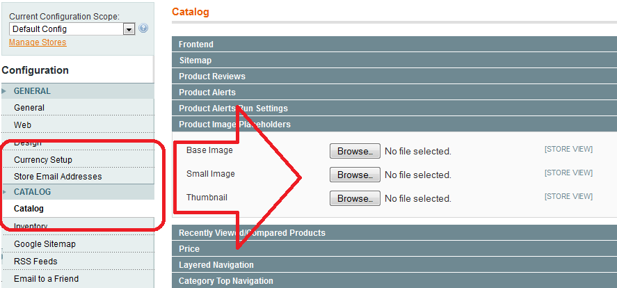 Magento: Image file was not found